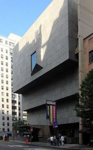 Exterior of the Whitney, on Madison Avenue