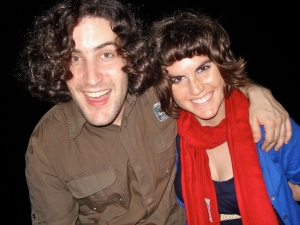 Phil + Lindsay = BFFs Forizzle.  Also, our hair will take over the world.