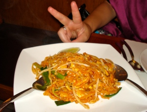 Pad thai for peace.
