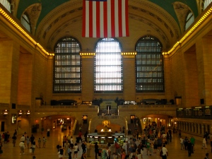 The main terminal at Grand Central.