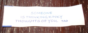 My fortune.  Best.