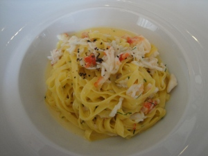 Taglioni with Alaskan King Crab