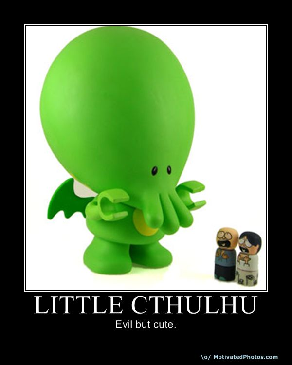 18 Days to Dragon*Con:  Cthulhu (4/6)