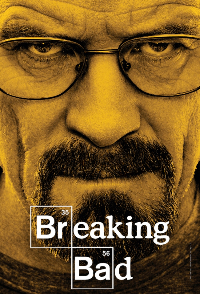 Watch Breaking Bad or Walter White will let you drown in your own vomit.