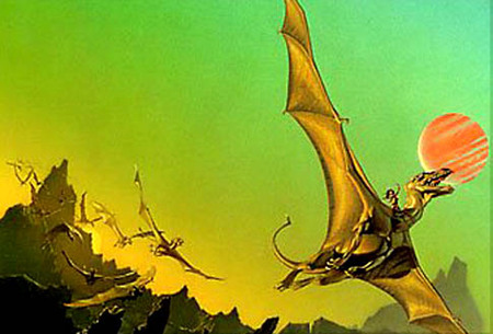 49 Days to Dragon*Con:  Dragons Part II, The Dragonriders of Pern (1/2)
