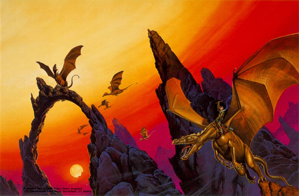 The Dragonriders of Pern by Anne McCaffrey 1978 Book Club HB includes Books 1-3