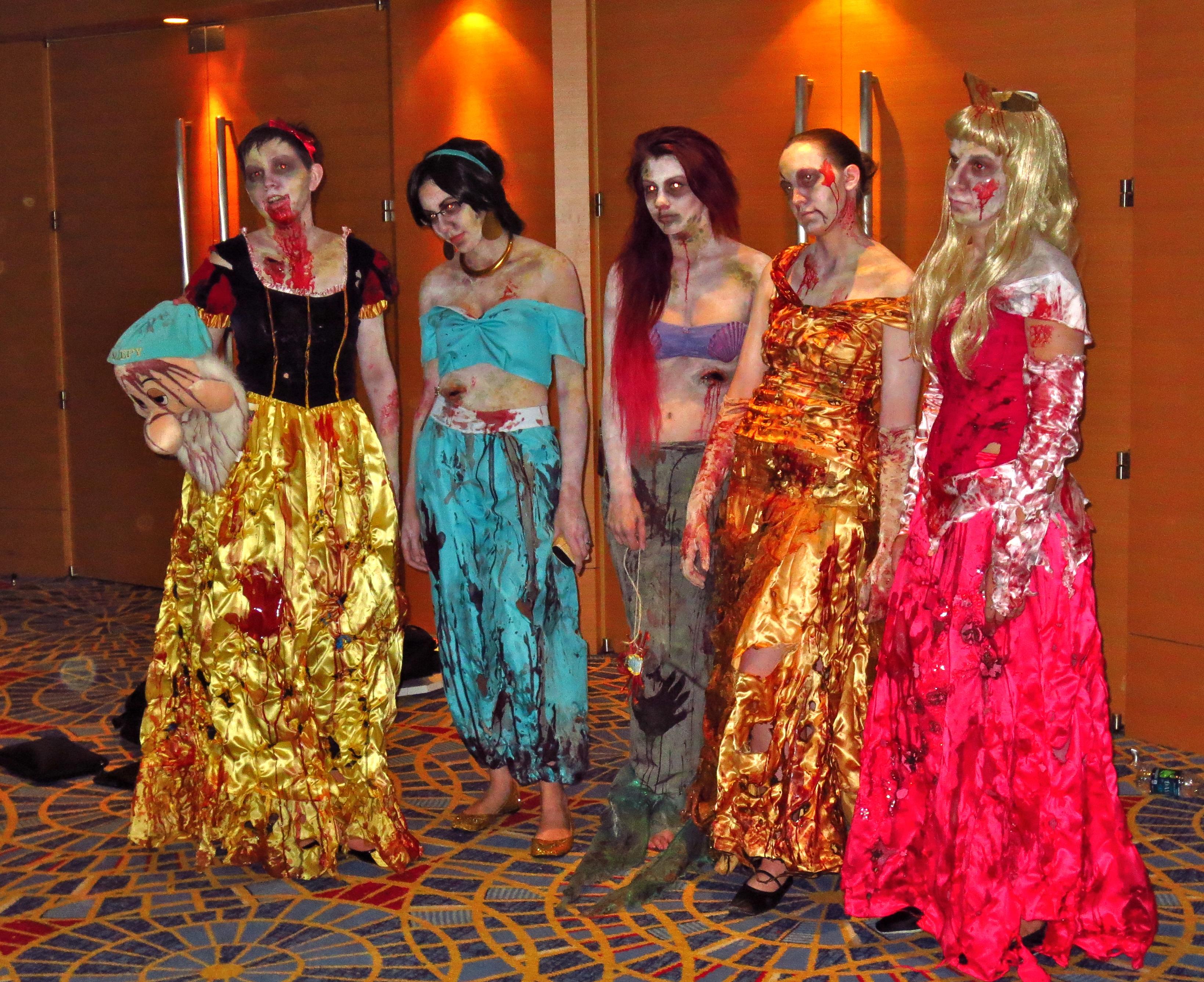 Disney PrincessesZombie Disney Princesses